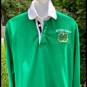 Notre Dame Authentic Rugby Shirt by Irish Maker